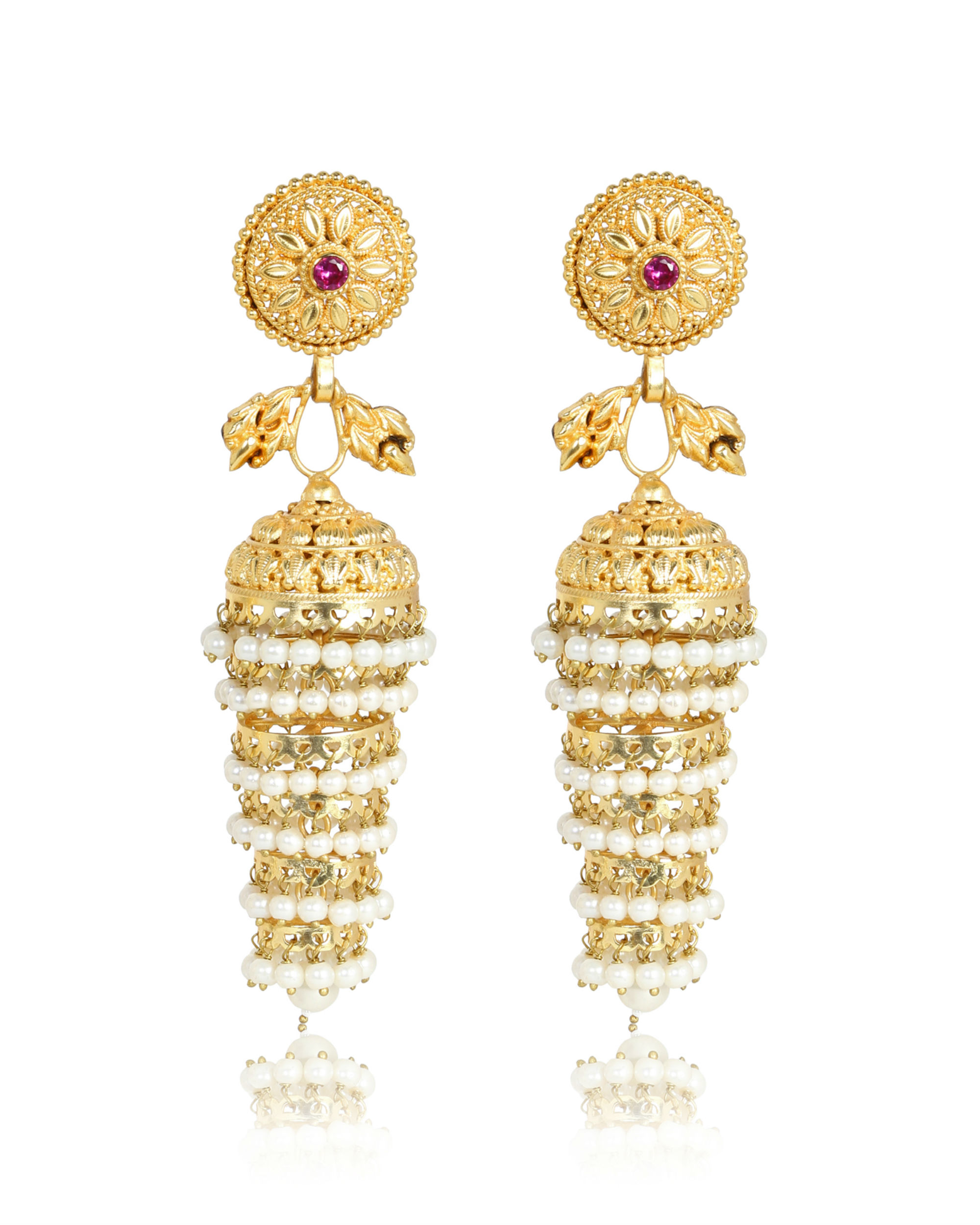 Sitakshi Multie tier gold jhumka