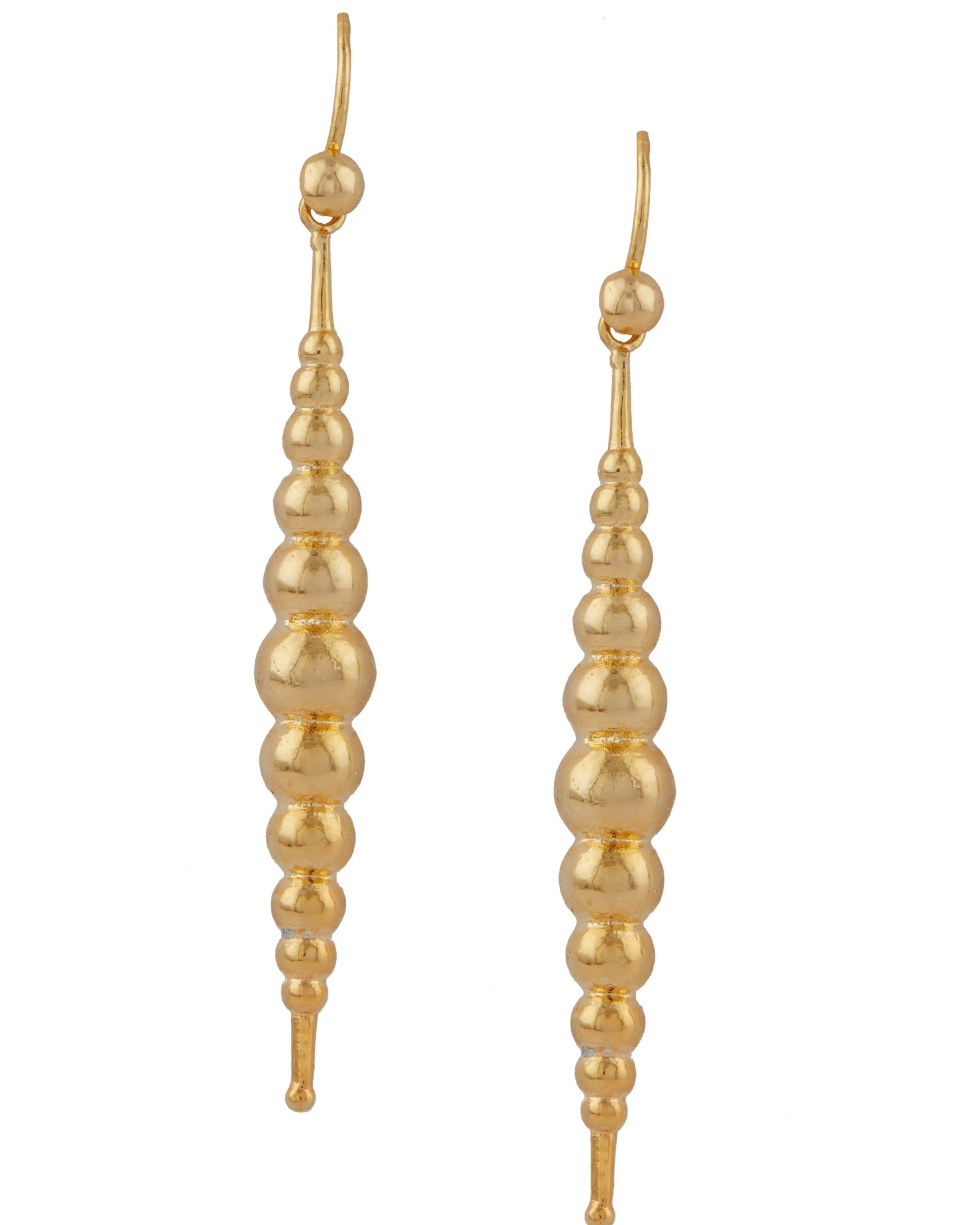 Bubble shape layered earrings