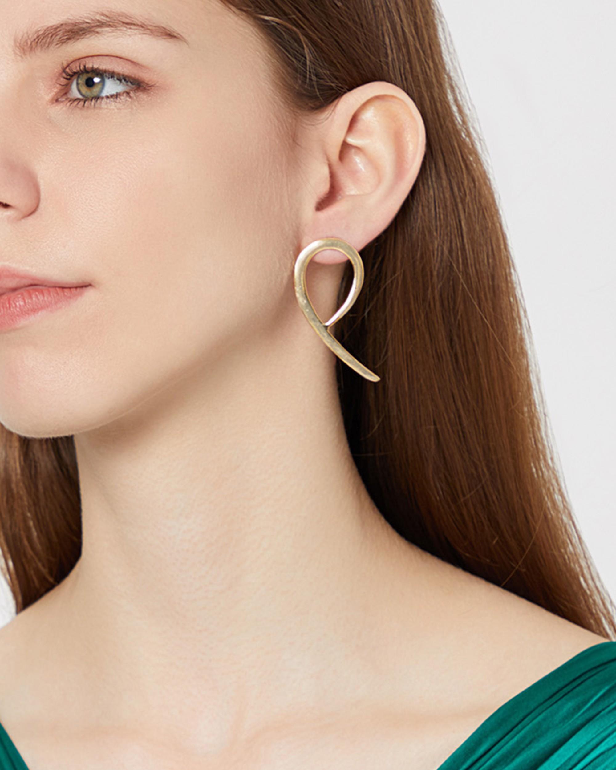 Arcturus hoop earrings