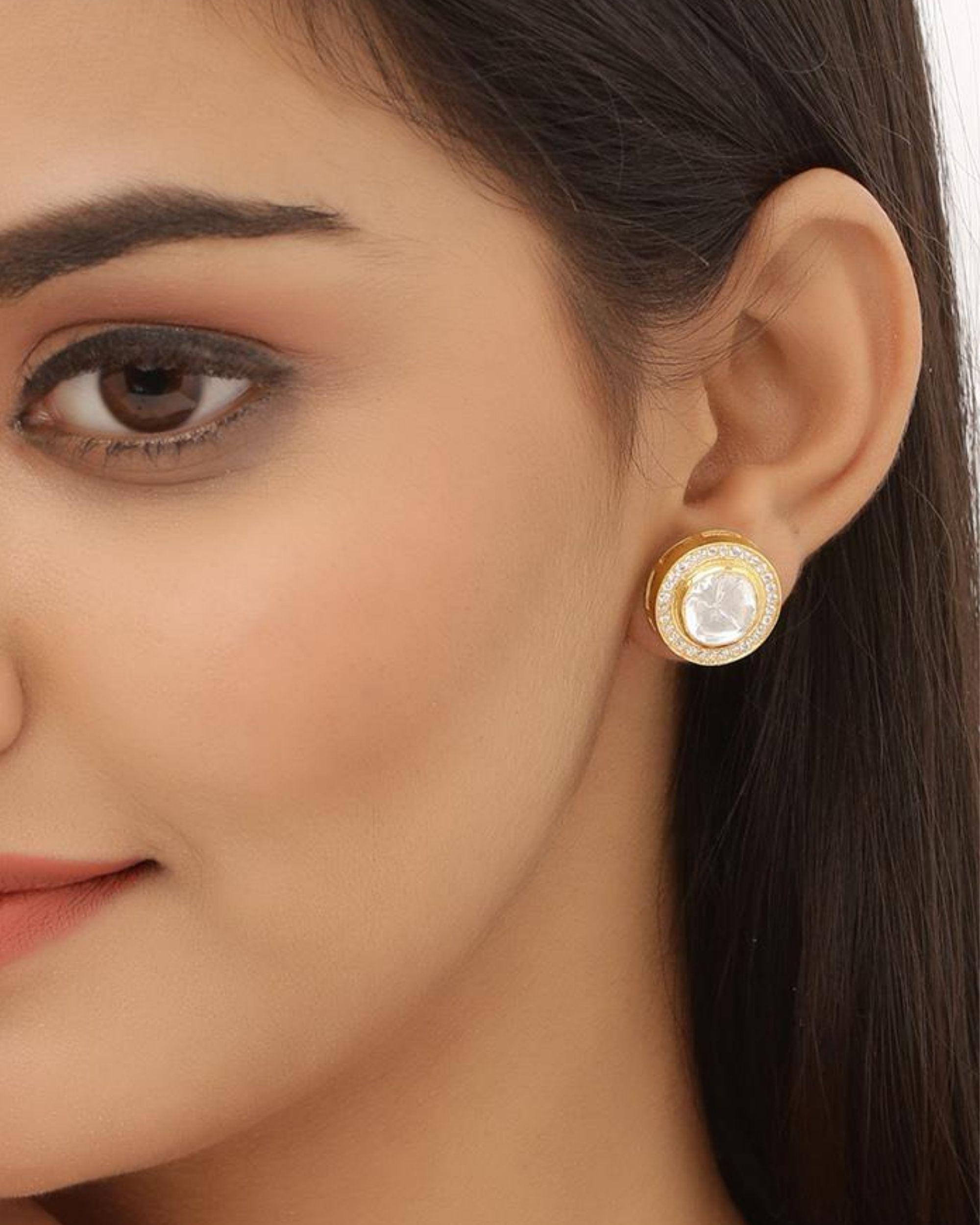 Kundan Stud Earrings