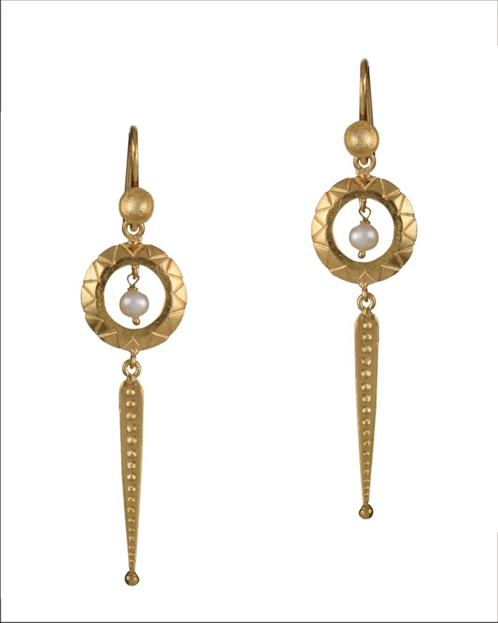 Rondele Earrings