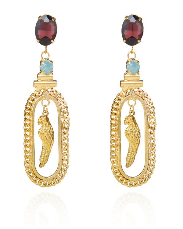 Lady Bird Swarovski Earring