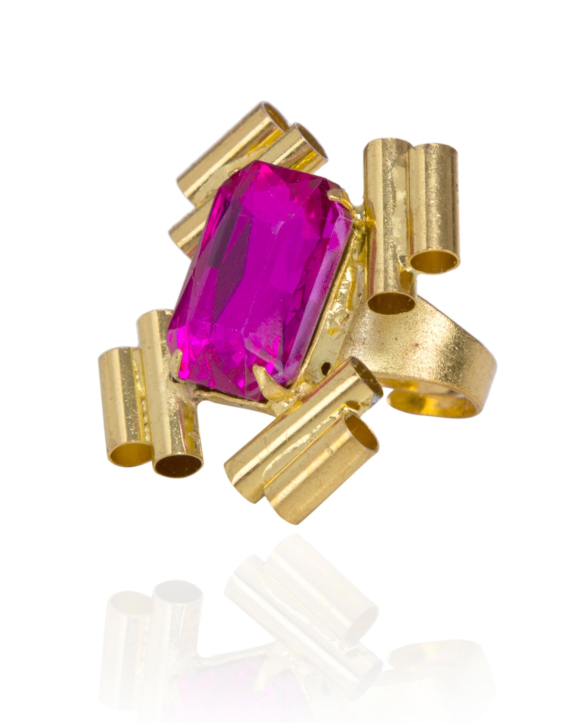 Pink Love Swarovski  Ring