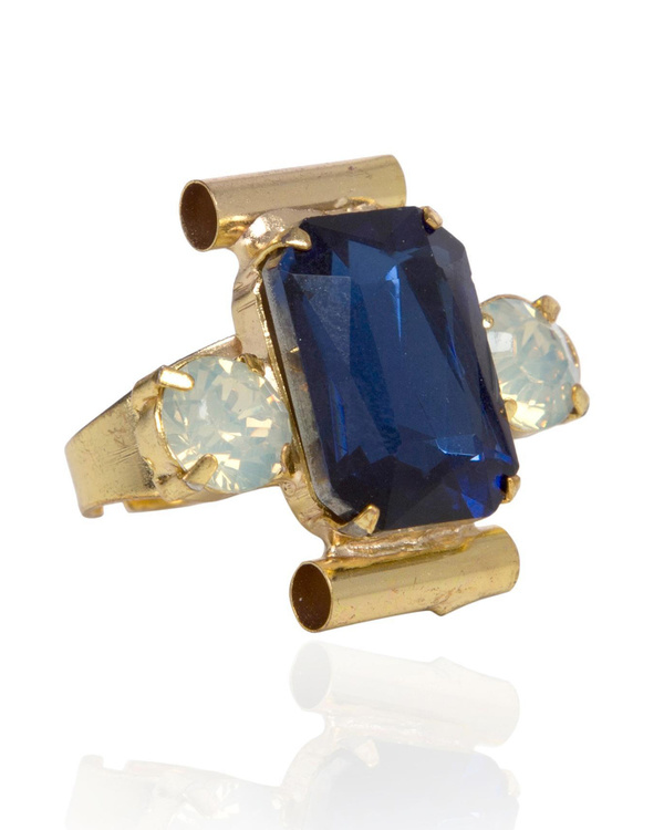 Bluehive Cocktail Ring