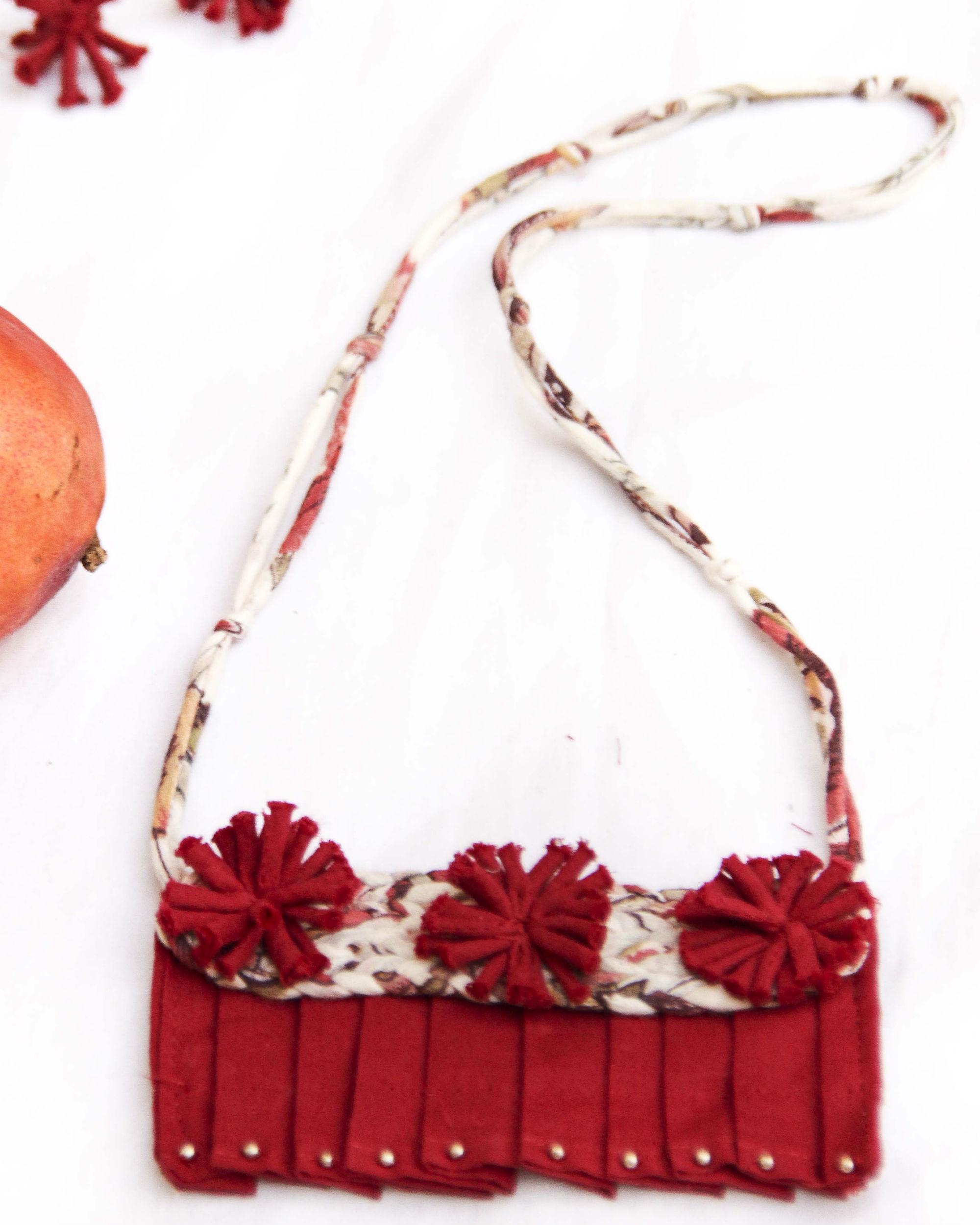 Rajwari Inspired Pleated Neckpiece