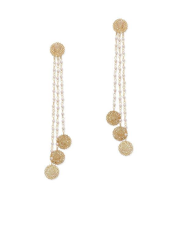 Sierra Filigree Long Earrings