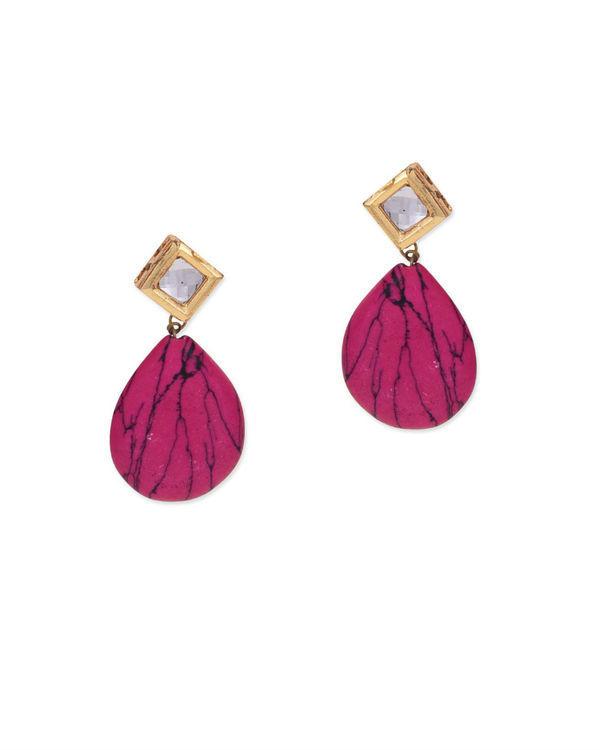 Meet Kundan Pink Stone Studs