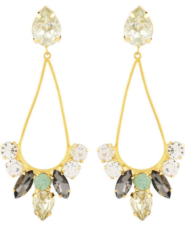 Dew Drop Crystal Earrings