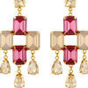 Thumb goldmist quartz earrings for women 2