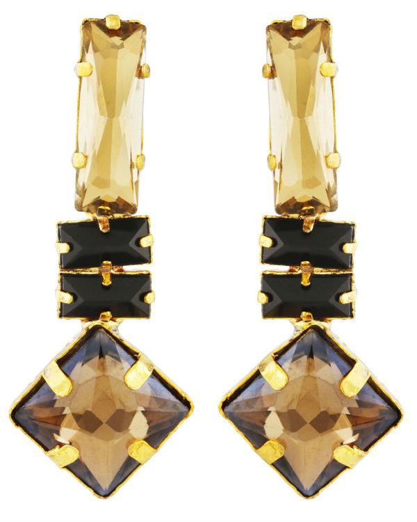 Geometric Mandala Earrings