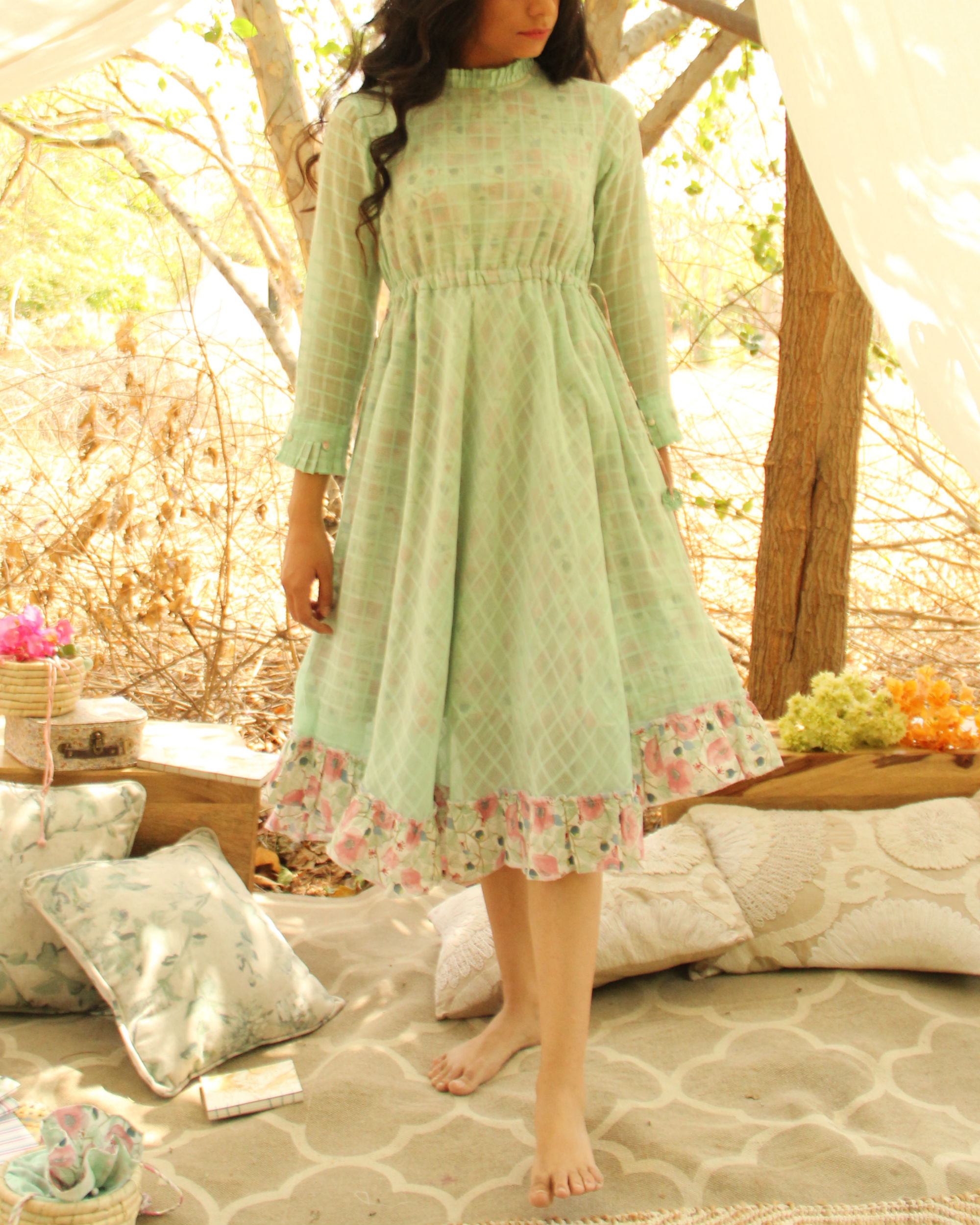 Greenhouse Flared Dress