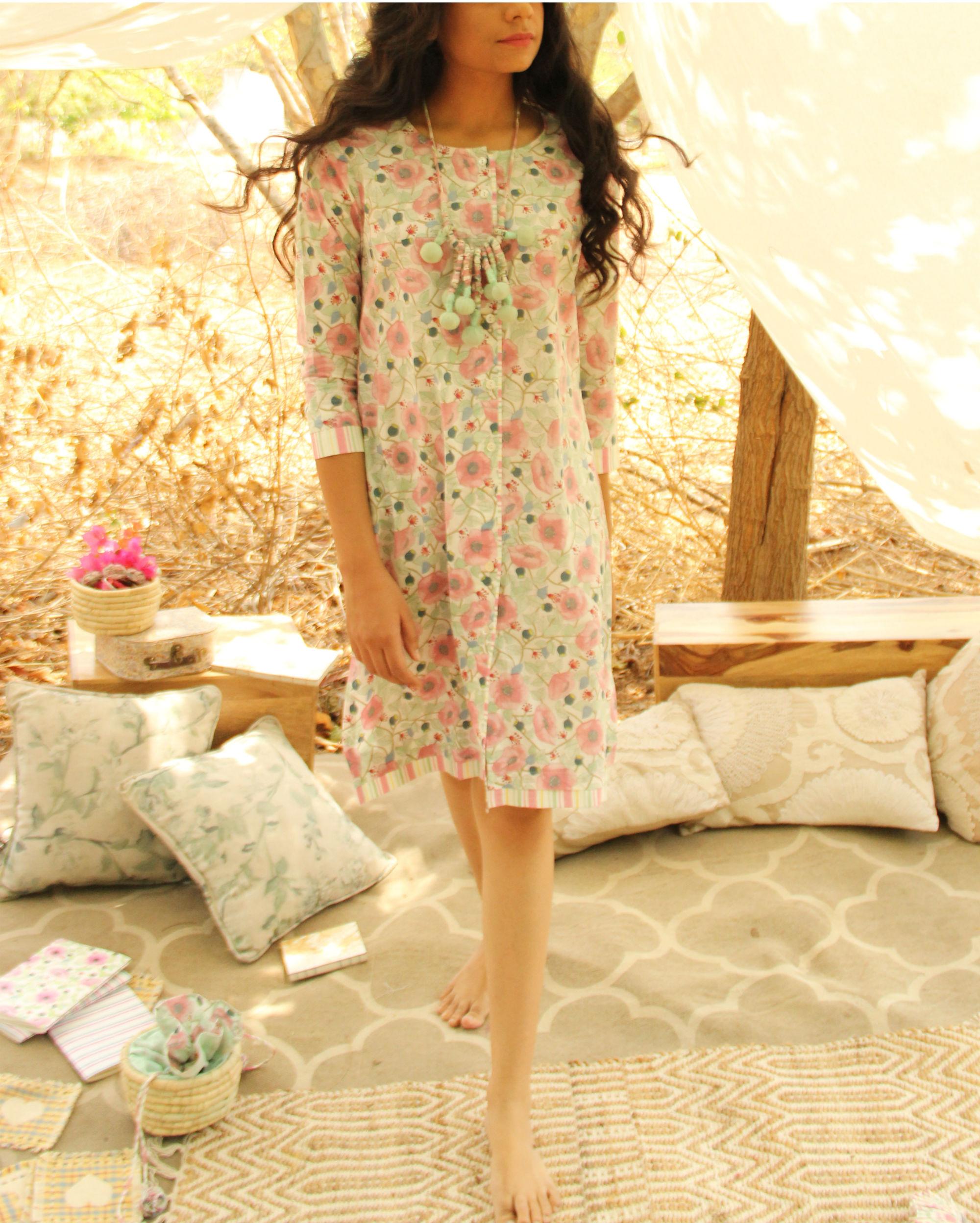 Minipack Floral Dress