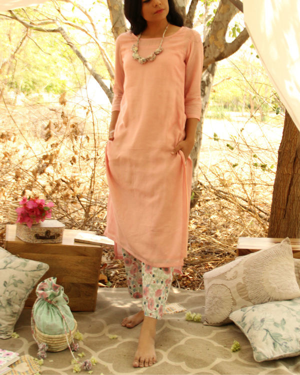 Ice cream Kurta Set
