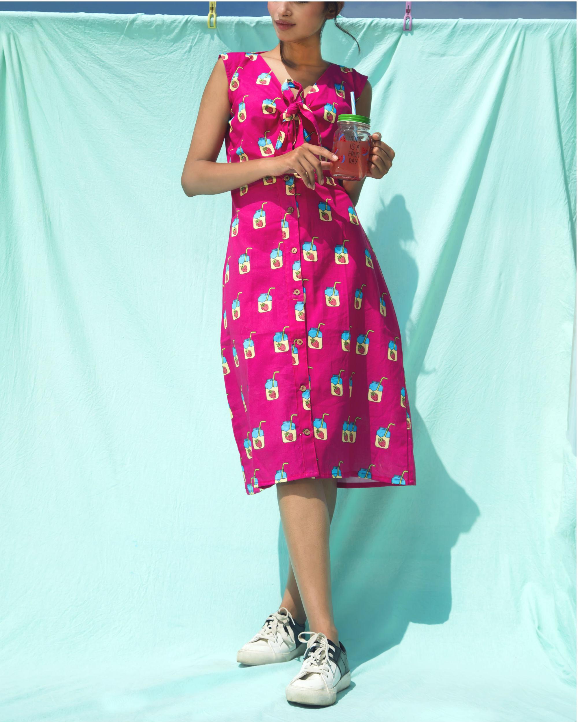 Pink mojito dress