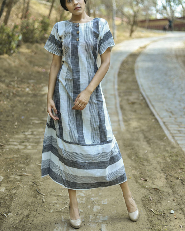 Multi stripes dress