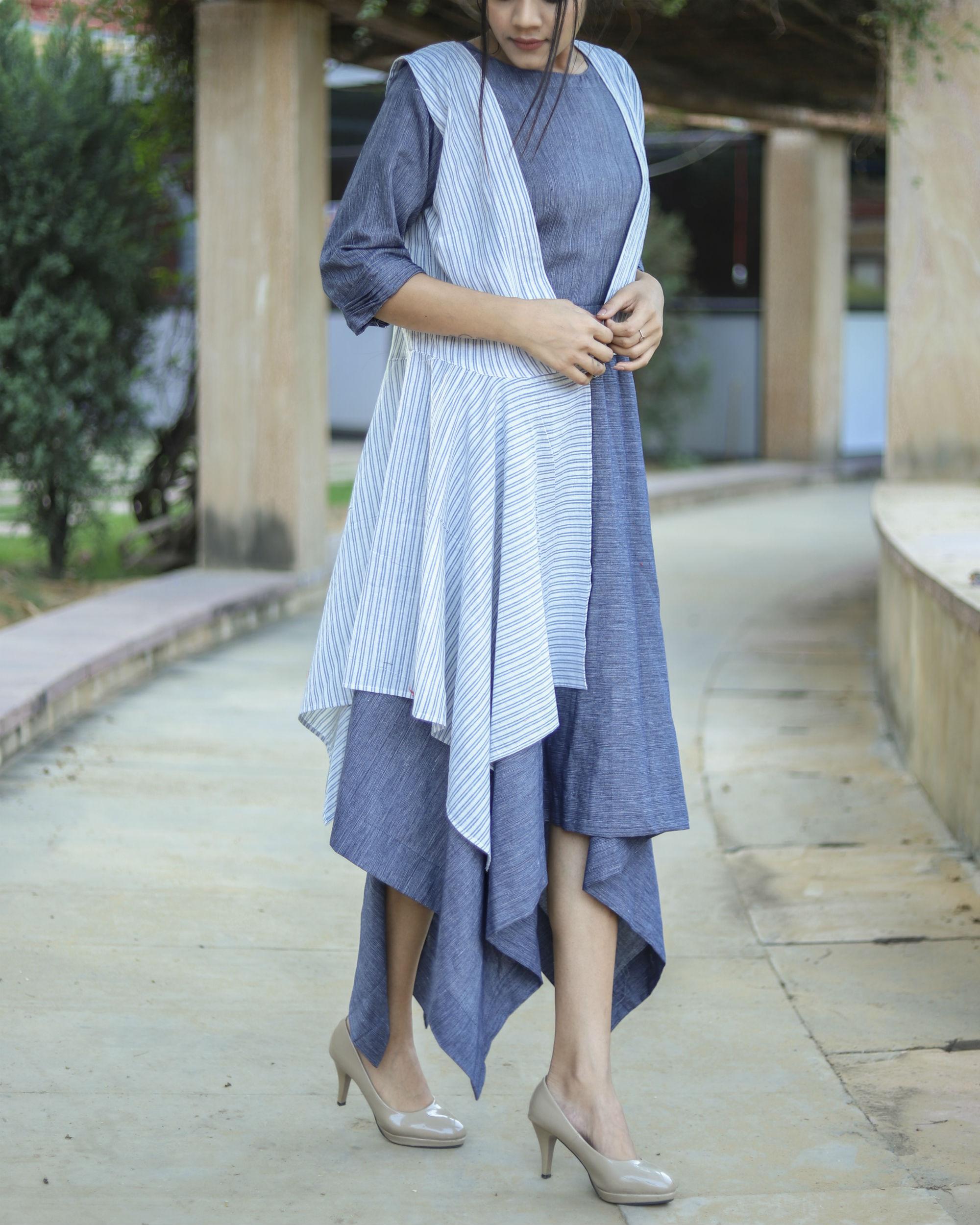Dual handkerchief dress