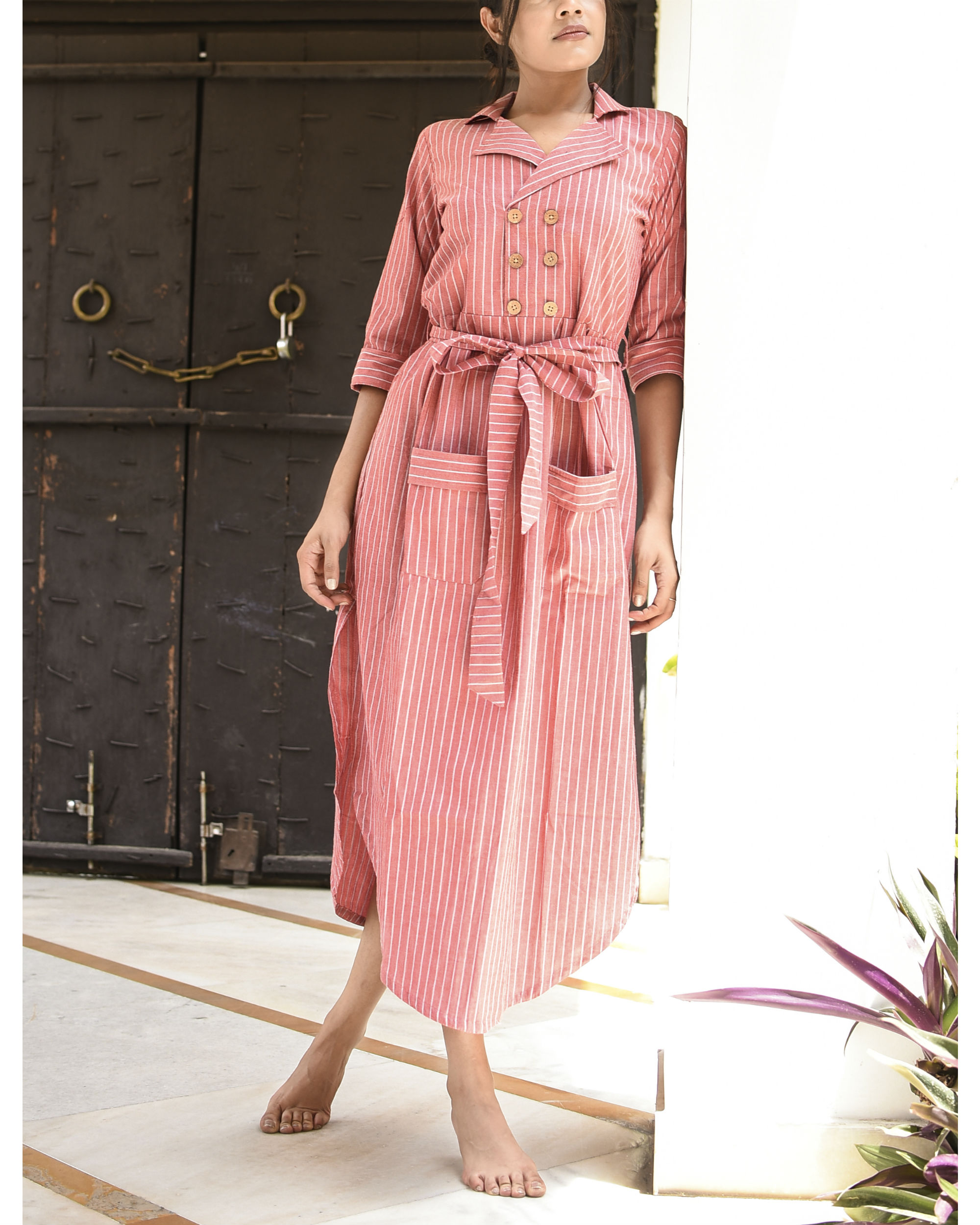 Pink soothing dress