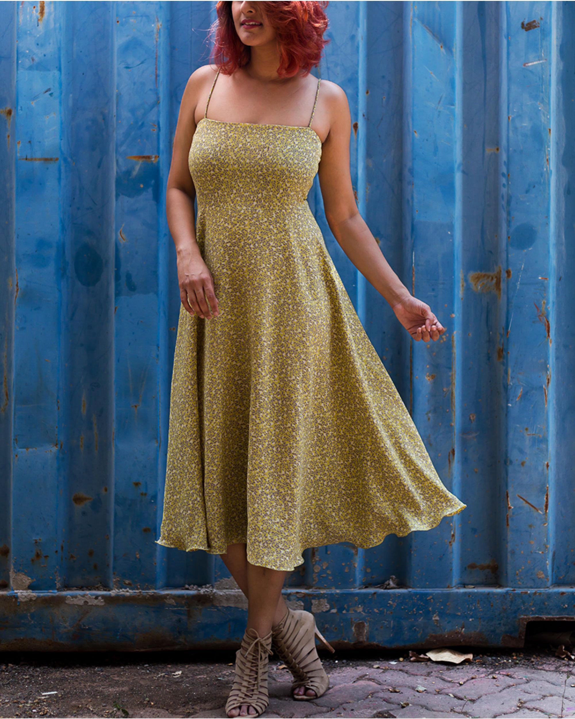 Lemon Meadow Dress