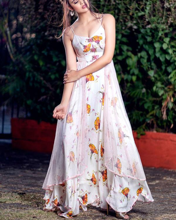 Strappy layered dress