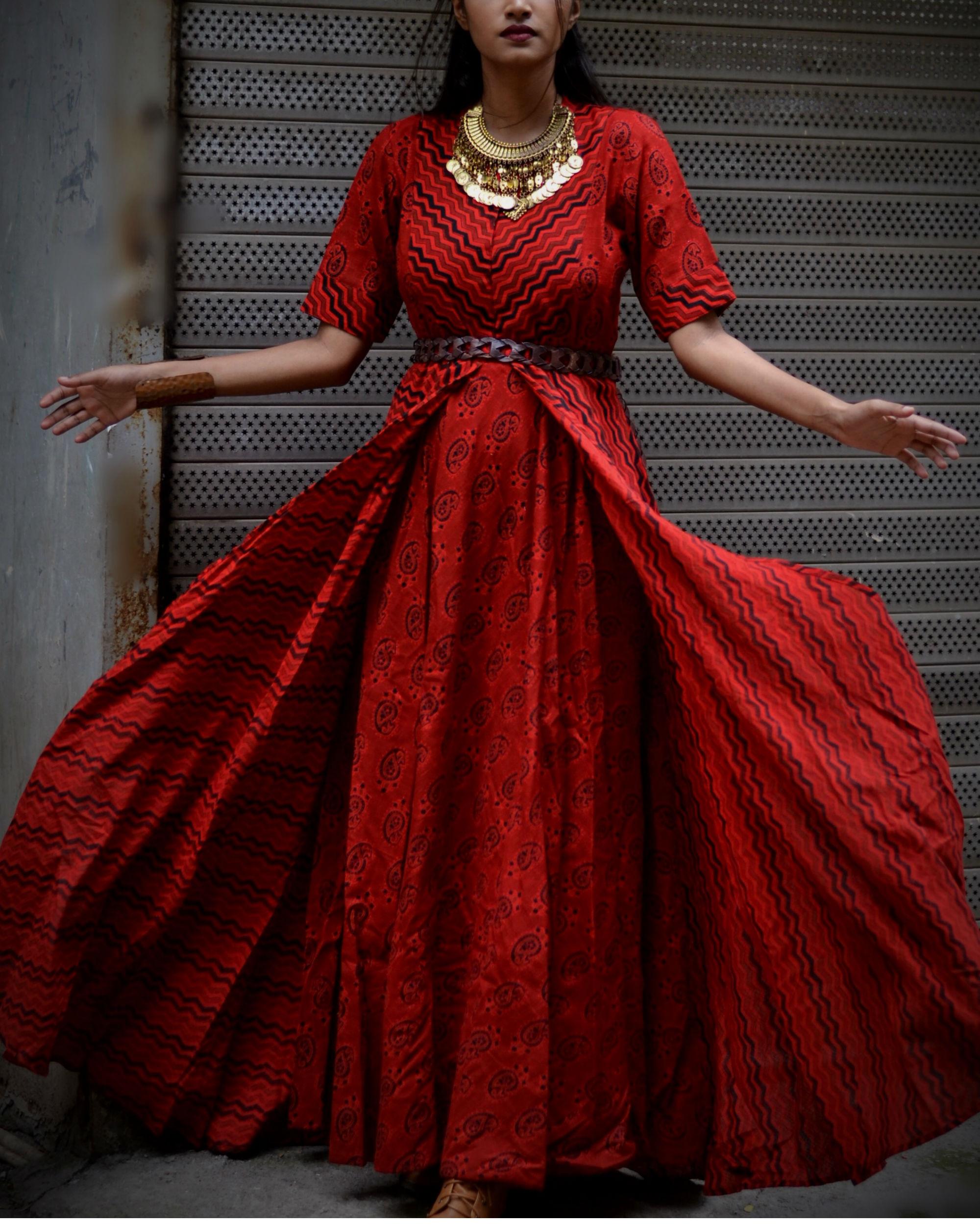 Red Angel Dress