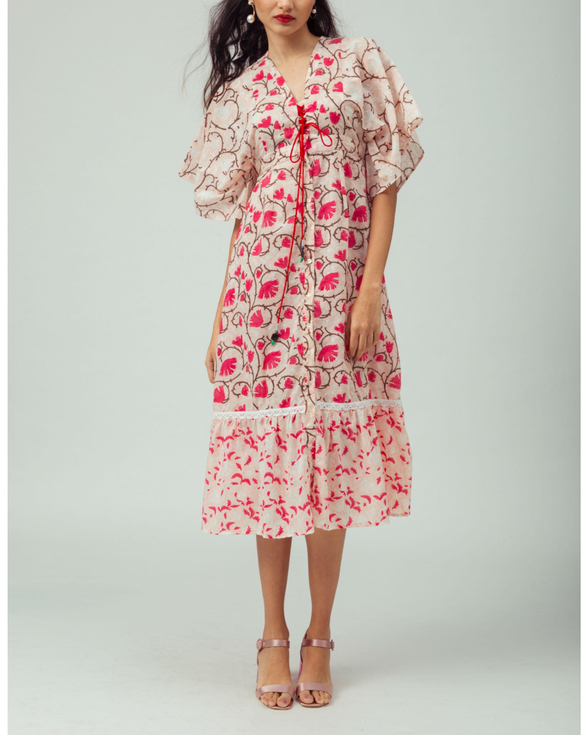 Cherry Blossom Kimono Dress