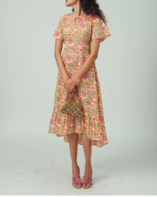 Tuscan anar vintage dress