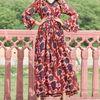 Thumb red georgette dress 1