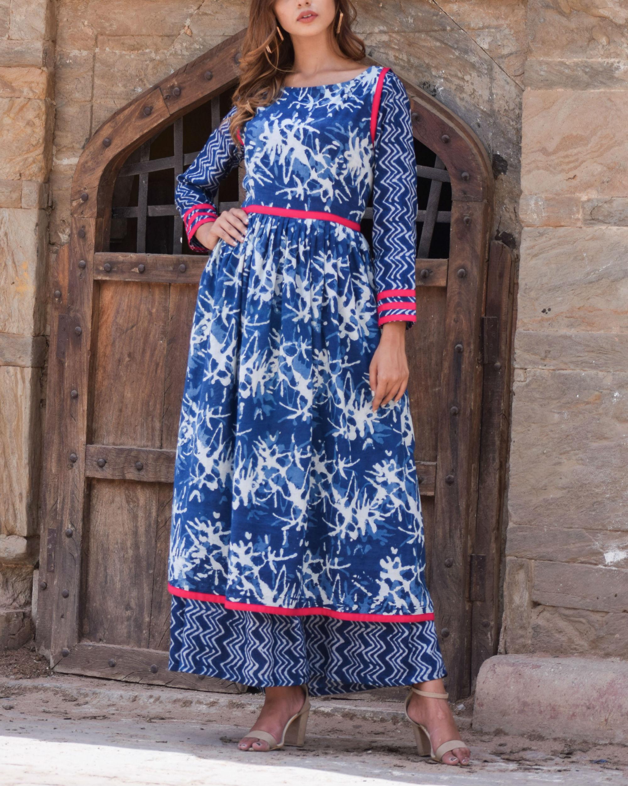 Indigo Double Dress