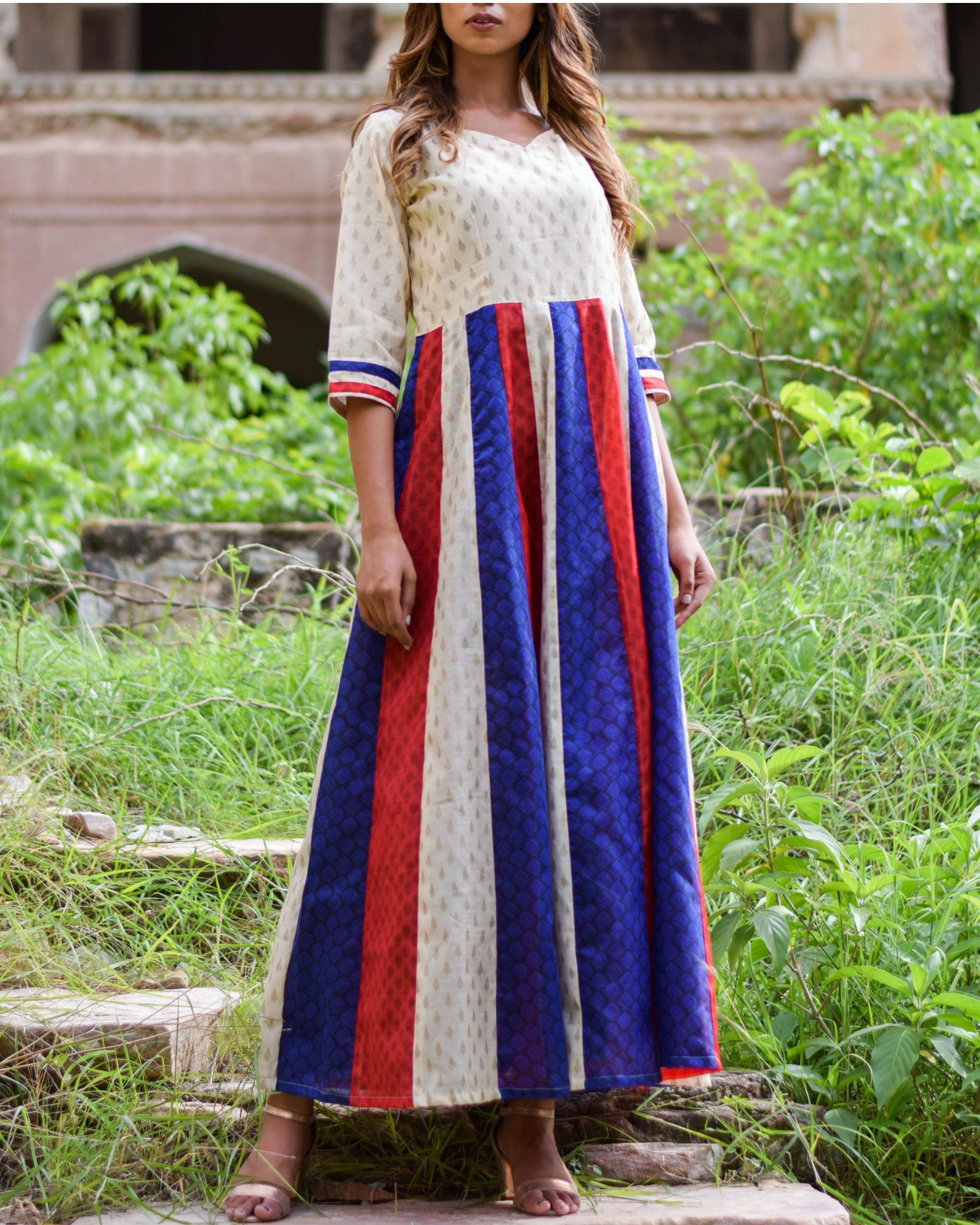 Multi Kali Tassel Dress