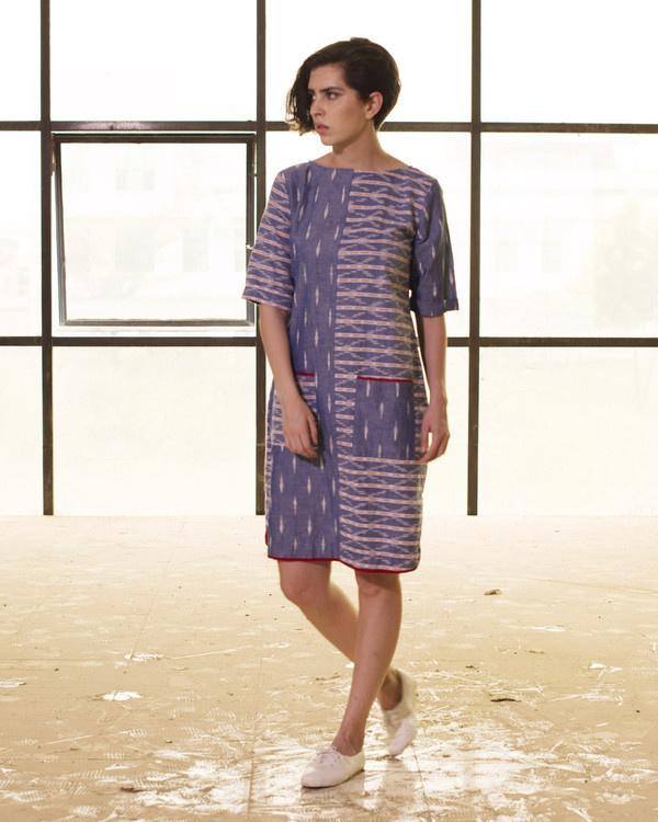 Mix and match shift dress