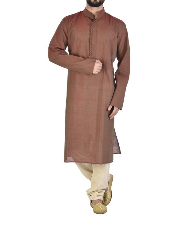 Long kurta in 100% cotton
