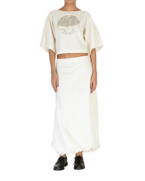 Kimono crop top