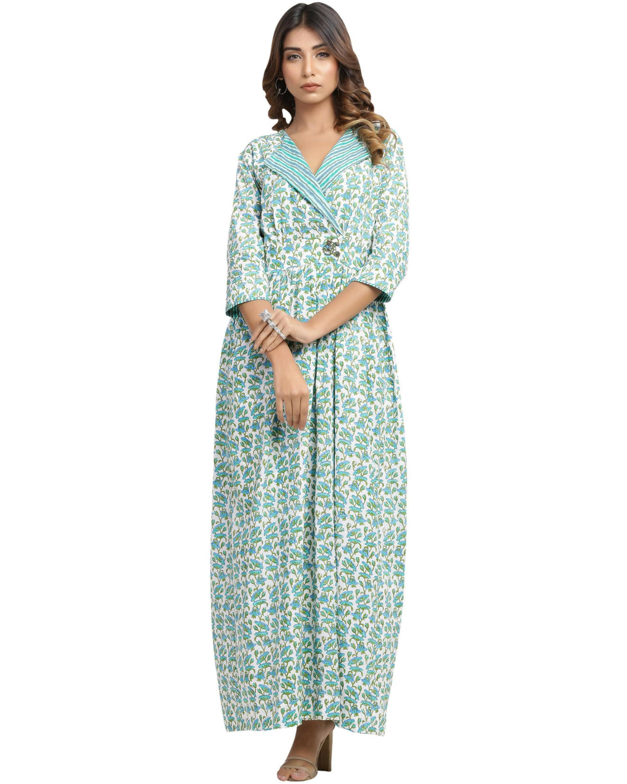 Umbrella maxi dress