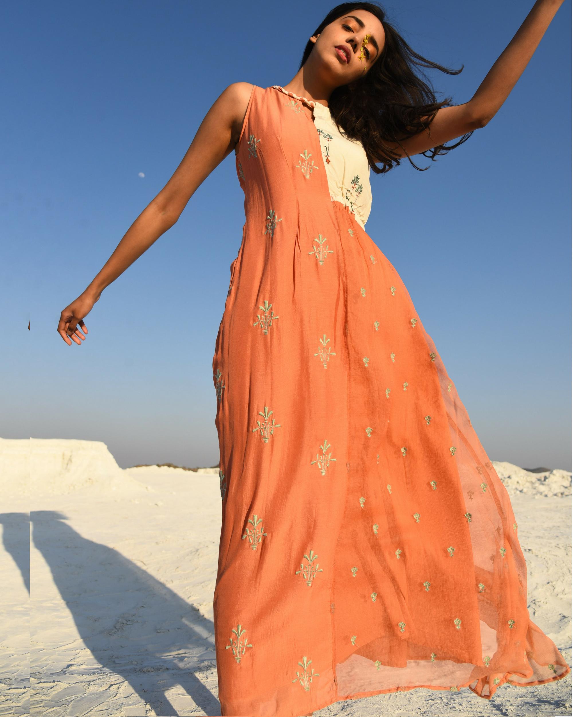 Braided traveller dress