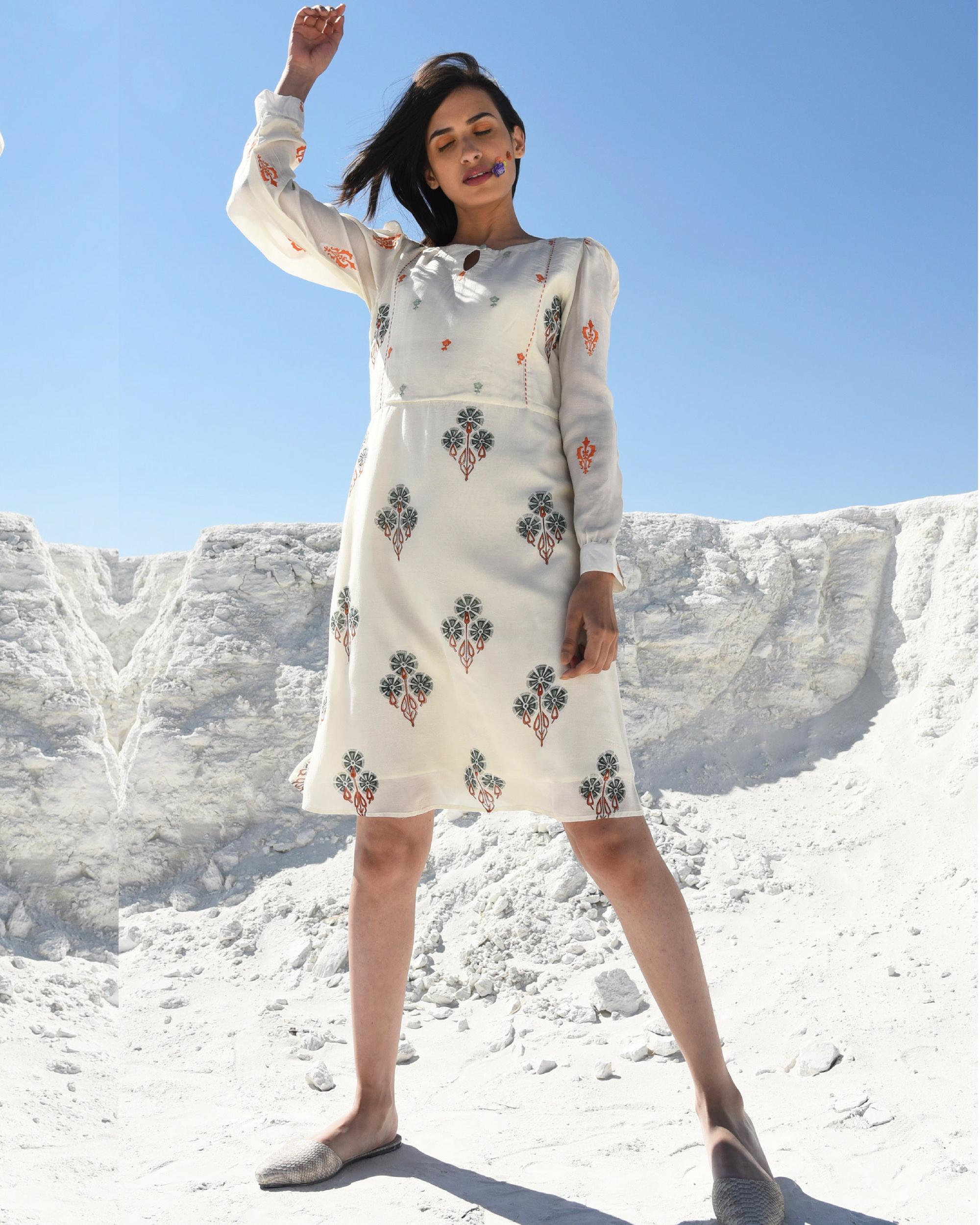 Printed sunny dress