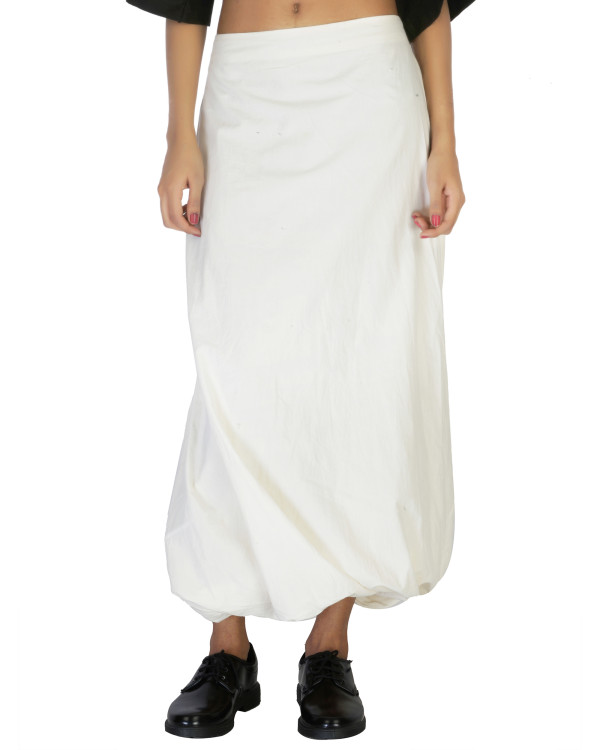 Twisted dhoti skirt