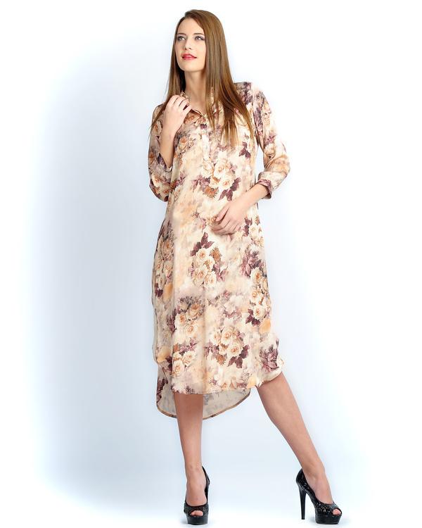 Beigerose dress