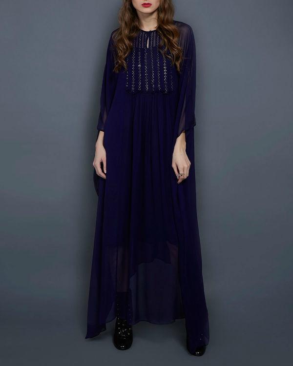 Navy blue kaftan dress