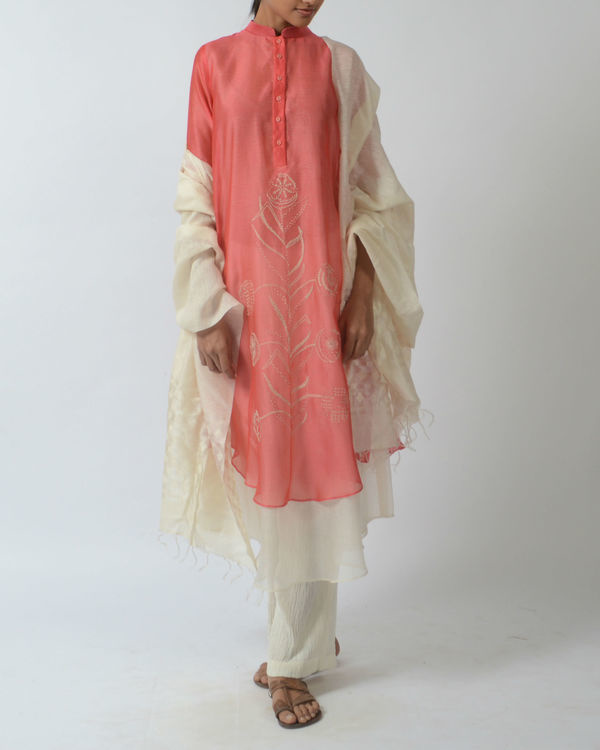 Pink double layered tunic