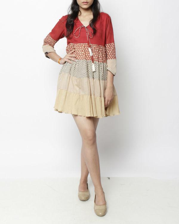 Kora panelled dress