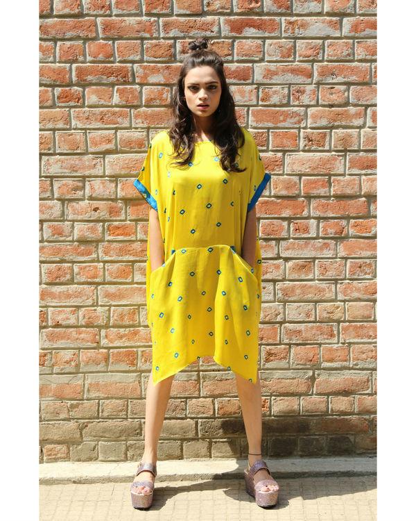 Yellow rectangular tunic