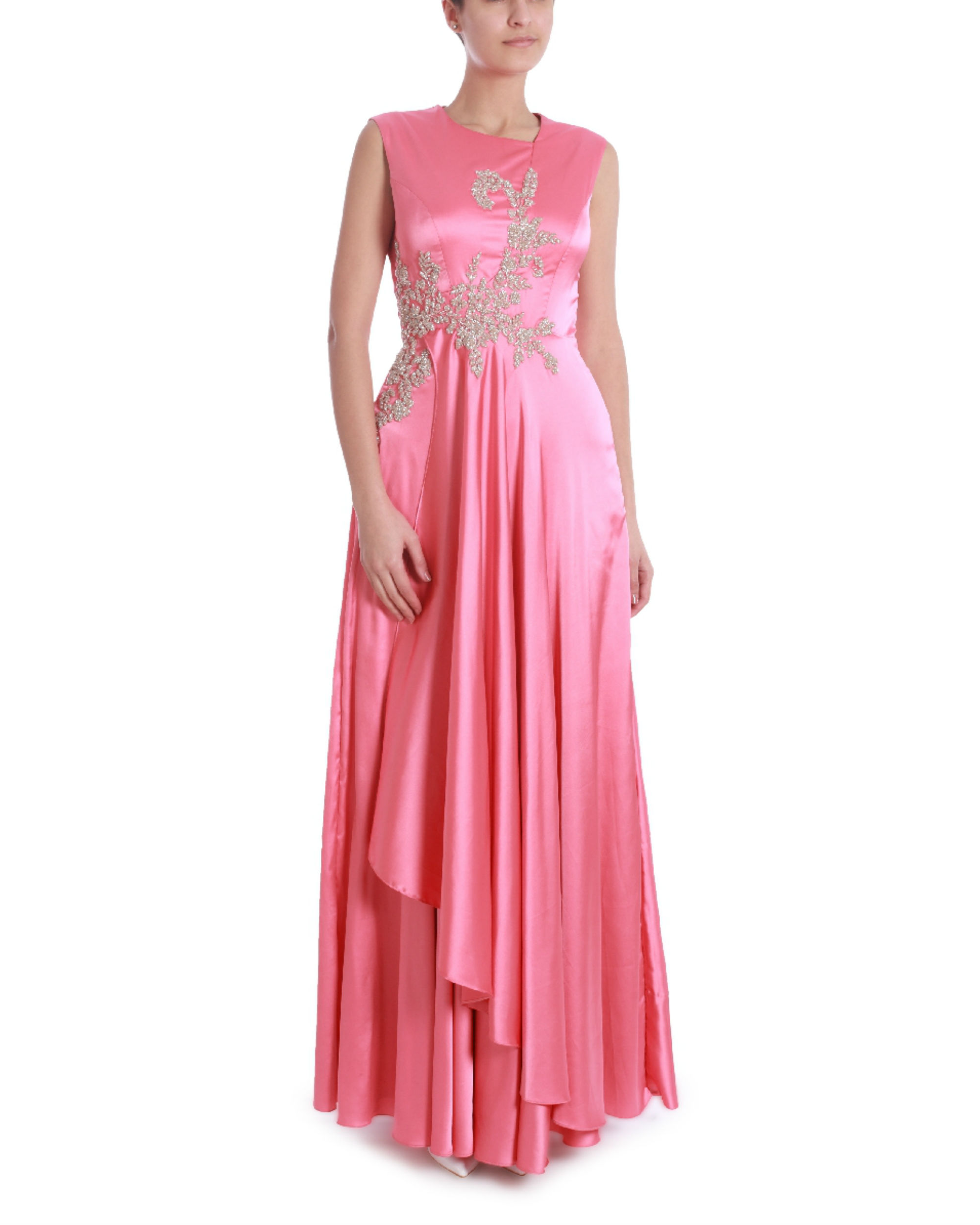 Georgia pink gown