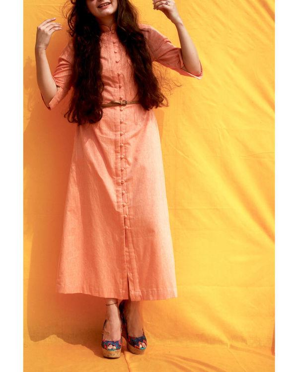 Khadi shirt dress