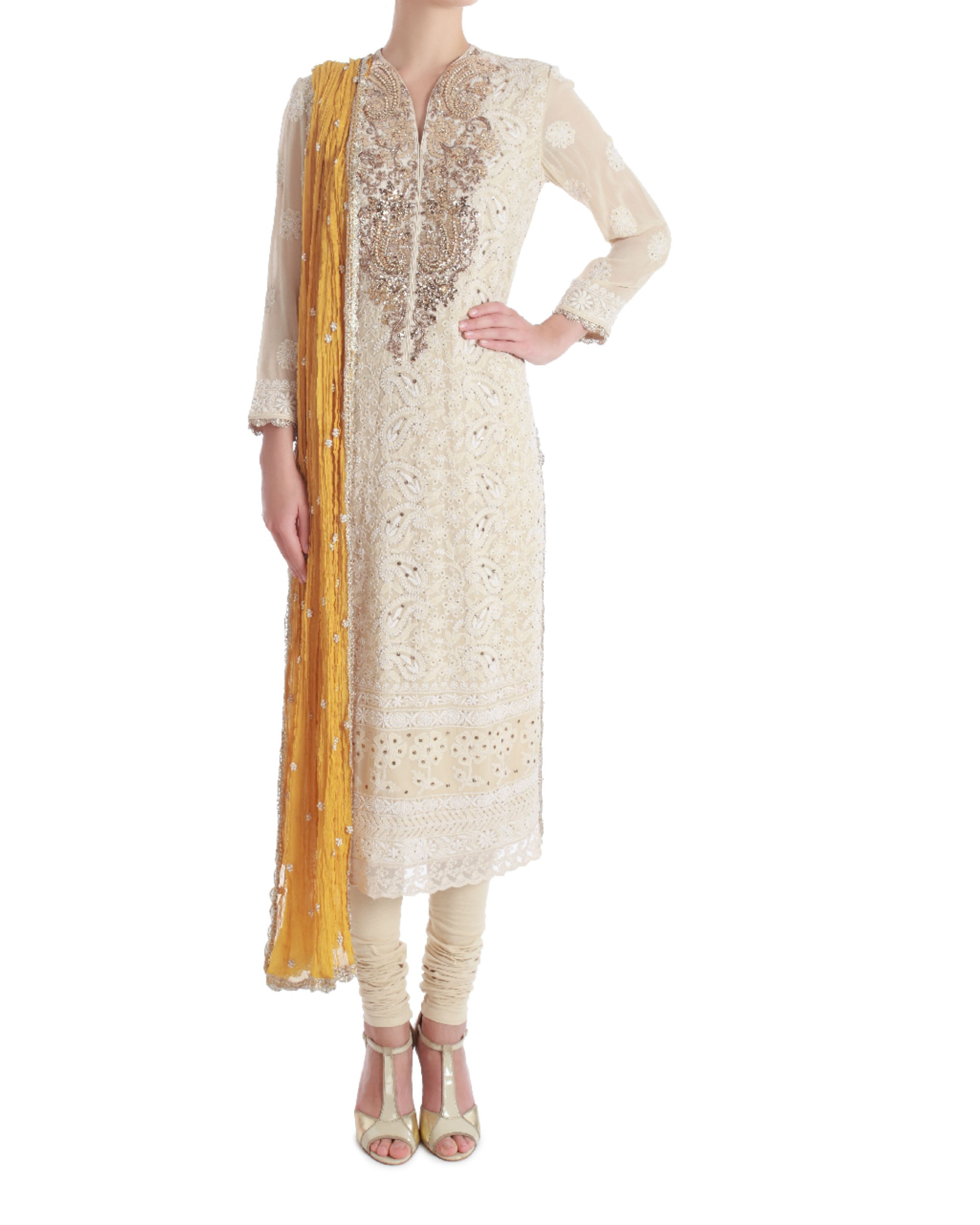 Azalea summer lucknowi kurta set
