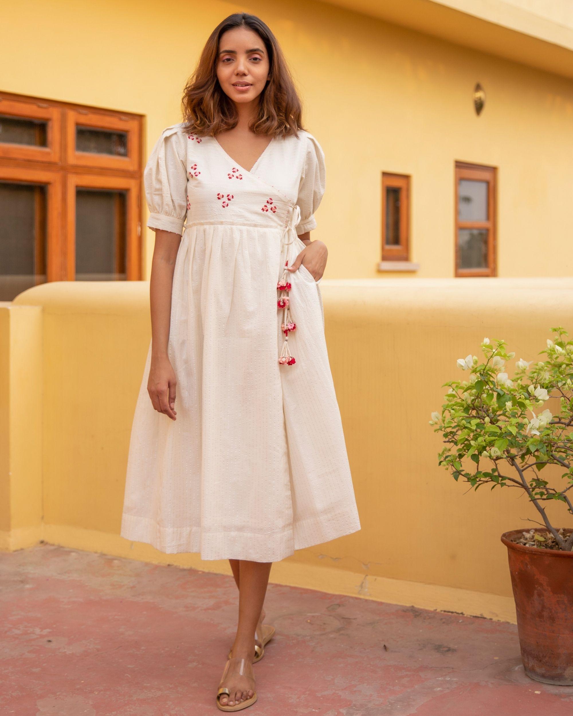 Floret stripe dress