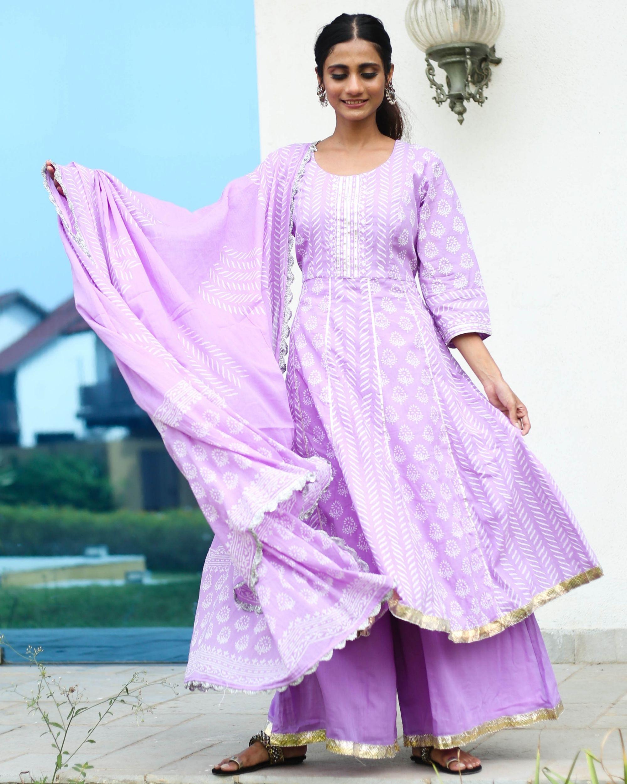 Lilac Suit Set
