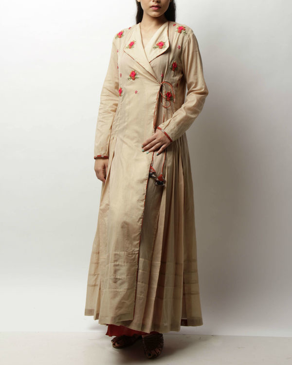 Rosette peshwaha tunic