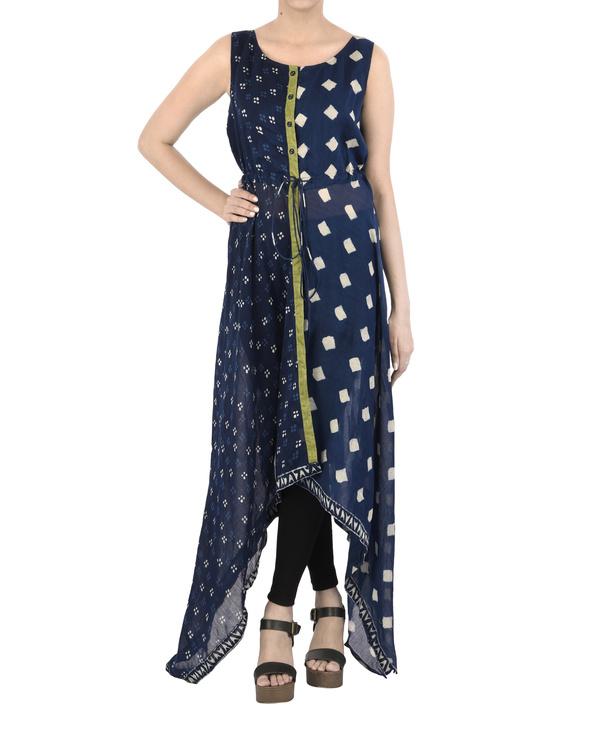 Asymmetric Indigo dress