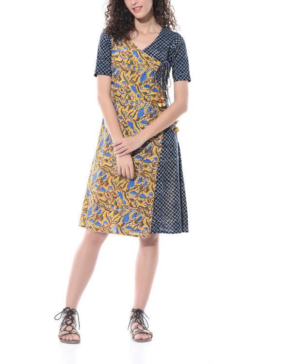 Angrakha style dress