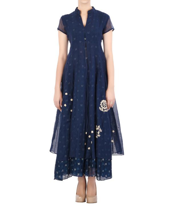 Layered Indigo dress